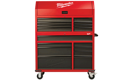 Milwaukee 117cm Rolling Steel Chest & Cabinet