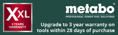Metabo 3 Year Warranty Upgrade